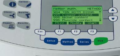 Titrator-Mettler-Toledo-DL28-display
